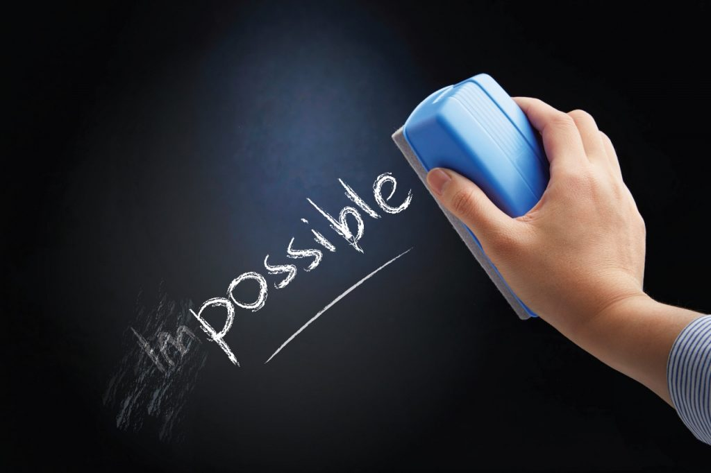 Todo es posible - everything is possible