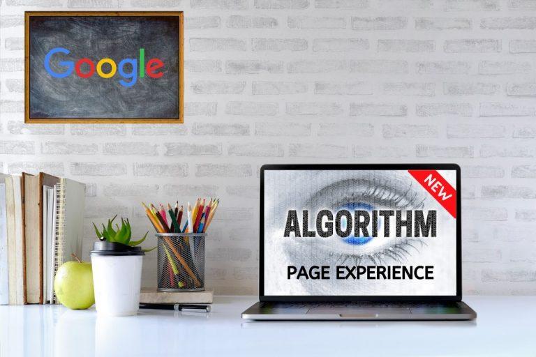 Experiencia de página de Google