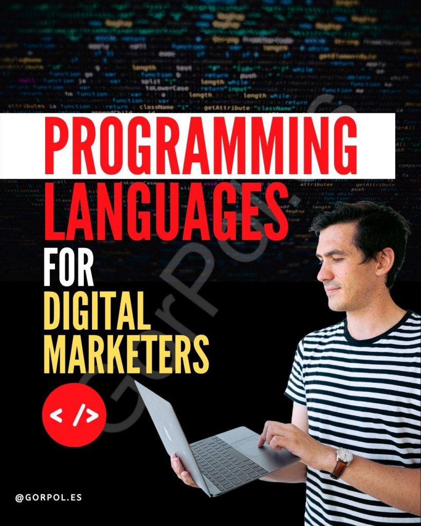 Lenguajes de Programación para Digital Managers - Programing languages for Digital managers